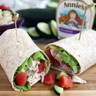 Cucumber Chicken Wrap Recipes.