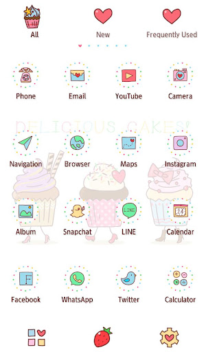 Wallpaper Funny Cupcakes Theme 1.0.0 Windows u7528 3