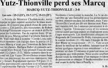 Photo: 04-12-95 N2F Marcq-en-Baroeul sans pitié 3-0