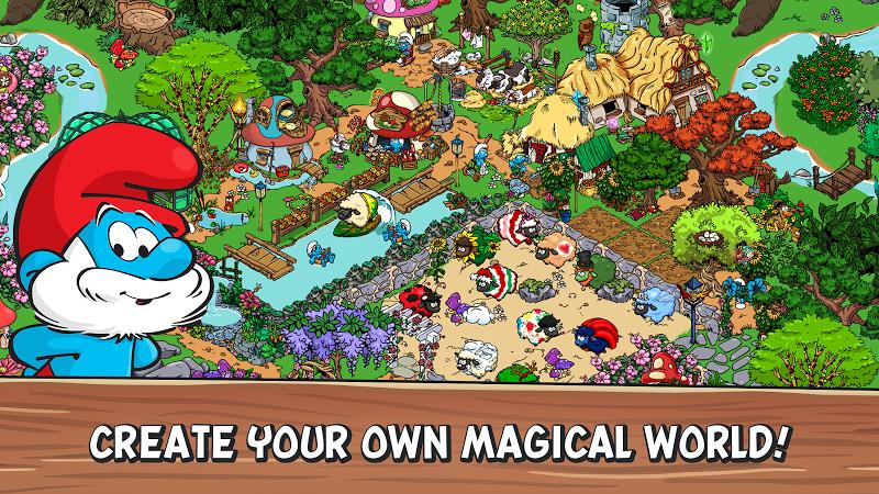Smurfs' Village Screenshot 0