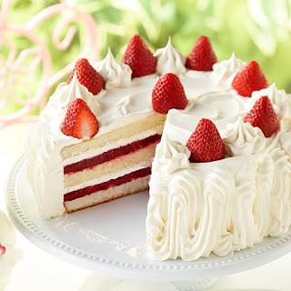Simple Strawberry Shortcake.