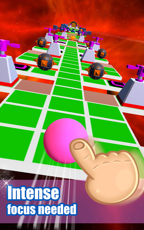 Rolling Ball Sky 3D Android 2
