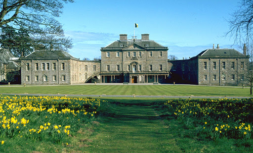 Haddo House is a Scottish stately home located near Tarves in Aberdeenshire, about 20 miles north of Aberdeen.