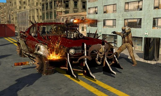 Panther Hero Zombie Battle Death Car Driving - náhled
