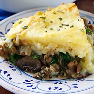 Lentil and Mushroom Shepherd's Pie (Vegan)