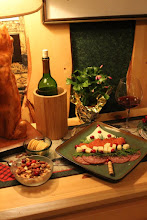 Photo: Add a bottle of wine and cheese tray - we'll start your fire awaiting your arrival - by request, just be sure to let us know when you will be arriving