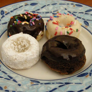 Chocolate Cake Mini Donuts