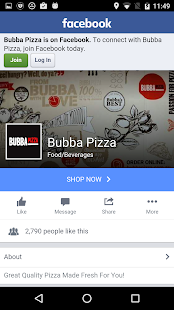 Bubba Pizza Ordering App- screenshot thumbnail