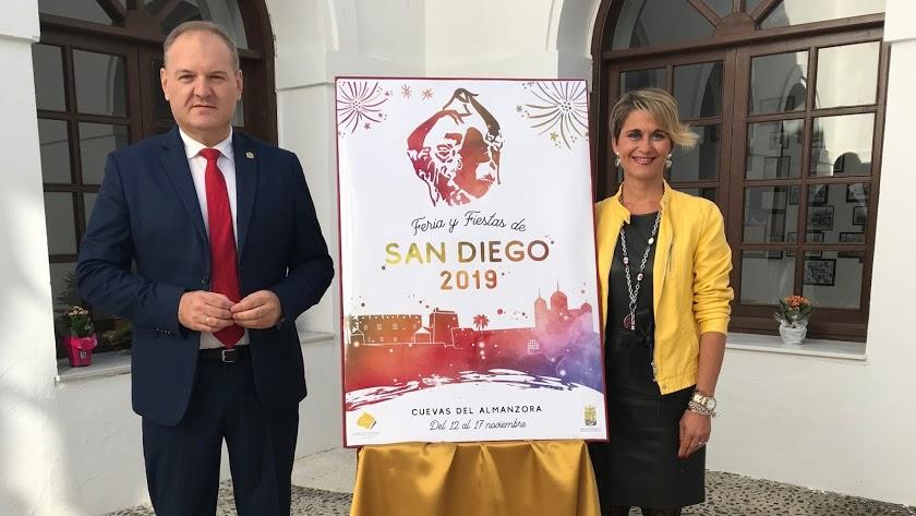 Presentación de la Fiestas en Honor a San Diego de 2019.