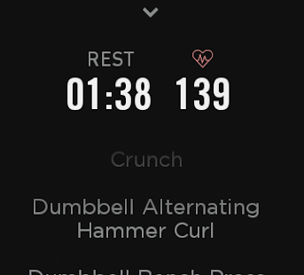 Atlas Workout Tracker for Wear- screenshot thumbnail