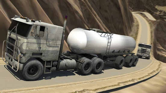 Offroad Oil Tanker Driver: Uphill Transport Truck - náhled