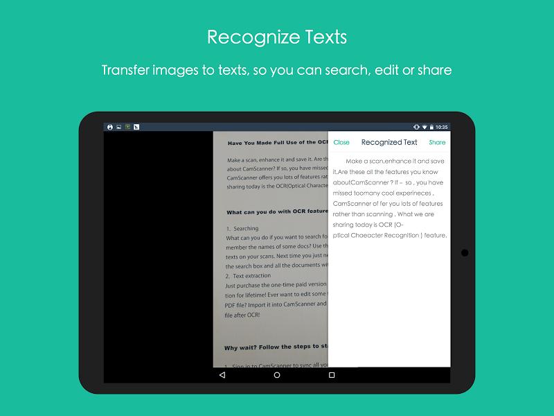 CamScanner - Phone PDF Creator Screenshot 12