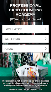 Pro Card Counting Academy Screenshot