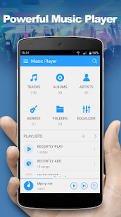Music Player Pro - náhled