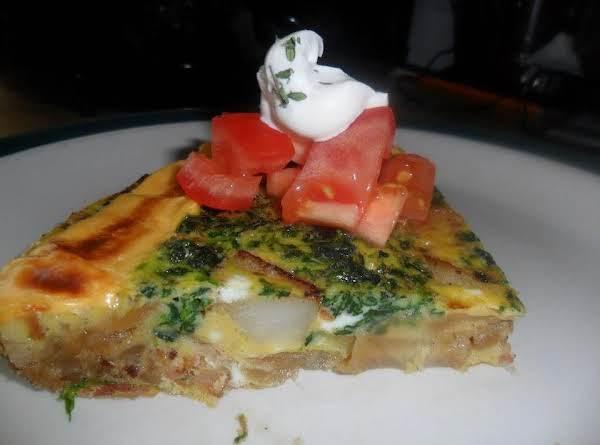 Frittata Con Spinaci (frittata With Spinach)