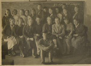 Photo: 1942 год, ученики Солонешенской школы.