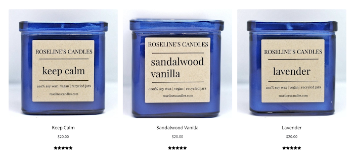 Rosaline's Candles