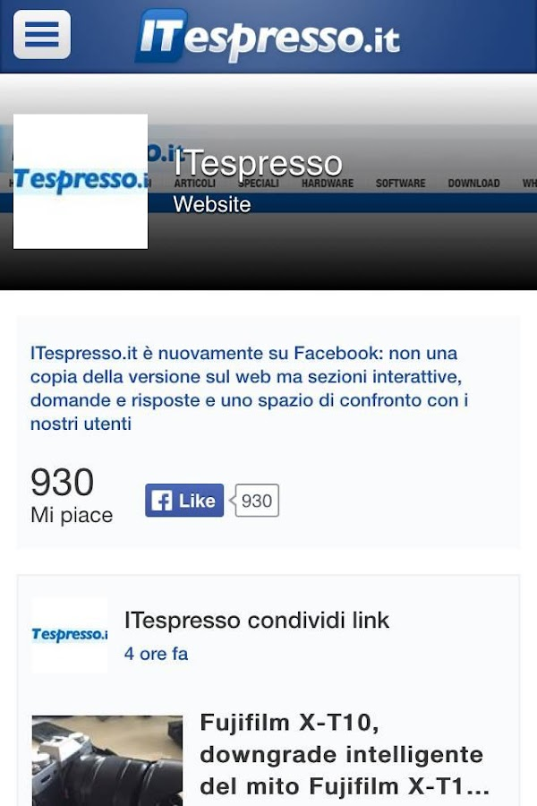 Notizie Tech - ITespresso.it- screenshot