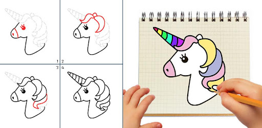Kawaii Easy Drawing : How to draw Step by Step for PC