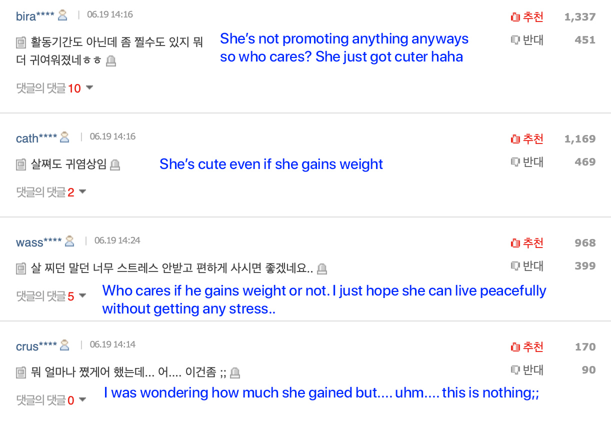 suzy weight gain 2019 netizen