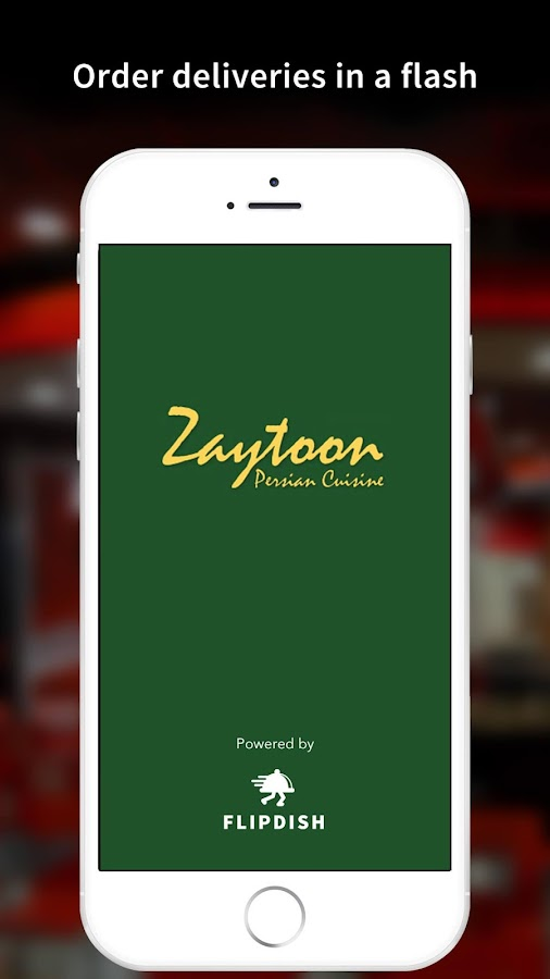Zaytoon App- screenshot