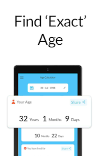 Age Calculator by Date of Birth⌛️: Age App