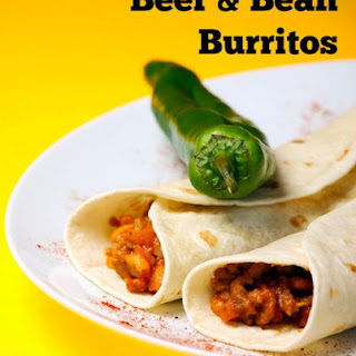Bean & Beef Burritos