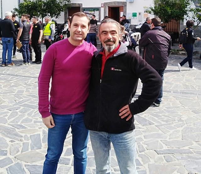 Jesús Segura Carmona y Antonio J. García, dos buenos trabajadores del municipio.