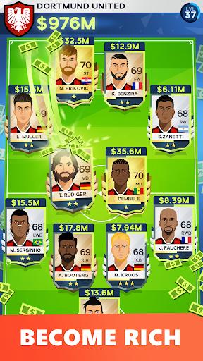 Idle Eleven - Be a millionaire soccer tycoon 1.3.1 APK MOD screenshots 1