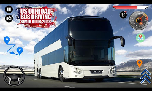 US Offroad Bus Driving Simulator 2018 1.0.1 screenshots 2
