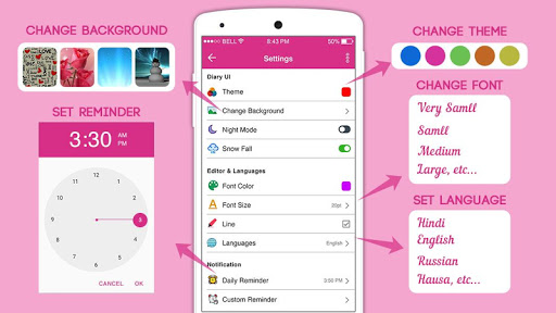 Screenshot for Secret Diary With Lock - Diary With Password in United States Play Store