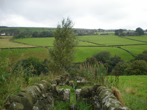 Photo: Descending the Pennine Way into the Colden Valley