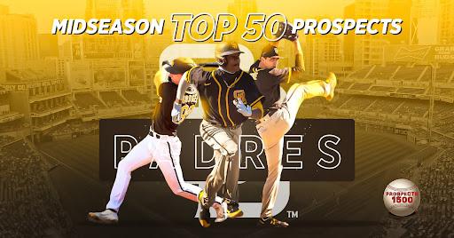 San Diego Padres 2021 Midseason Top 50 Prospects