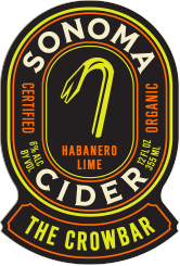Logo of Sonoma Cider Crowbar - Habanero-Lime Cider