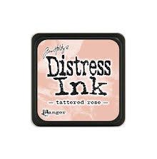 Tim Holtz Distress Mini Ink Pad - Tattered Rose