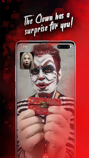 Killer Clown Simulated Video Call And Texting Game modavailable screenshots 3