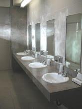 Photo: restrooms in campsite Pahrump Nevada