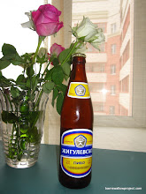 Photo: A real soviet beer (note the CCCP...which is USSR)...communism never tasted so good