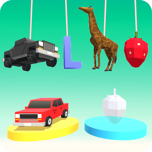 Kids Puzzles 3D (Vehicles, Animals, Shapes, Fruit)