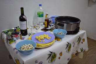 Photo: Repas de Noël.
