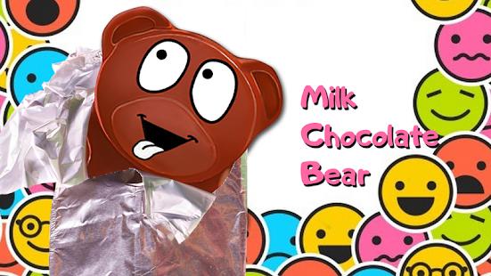 Mléko čokoládový medvěd - náhled