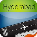 Hyderabad Airport (HYD) Radar Flight Tracker icon