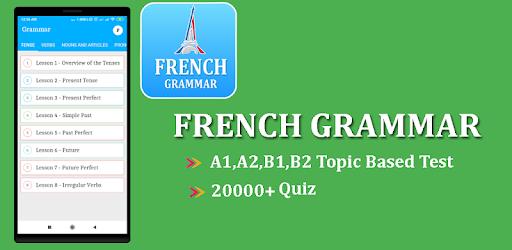 Learn French Grammar   French Grammar Test Free - መተግባሪያዎች