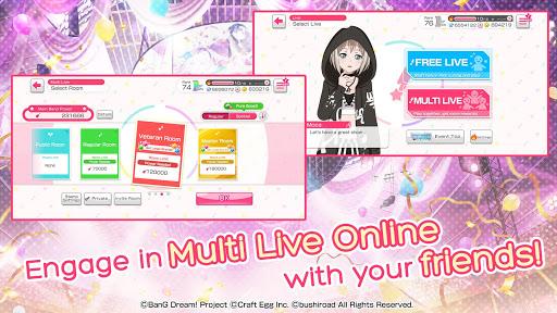 BanG Dream! Girls Band Party! modavailable screenshots 4