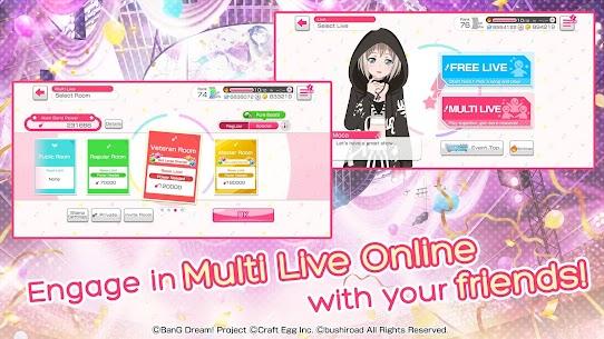 BanG Dream! Girls Band Party! Mod Apk 4.5.0 (Menu Mod + God Mode) 5