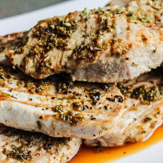 Greek Pork Chops.