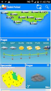 Česká Počasí - náhled