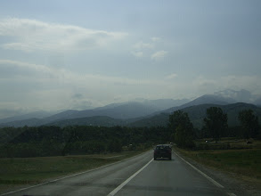 Photo: In drum spre Fagaras