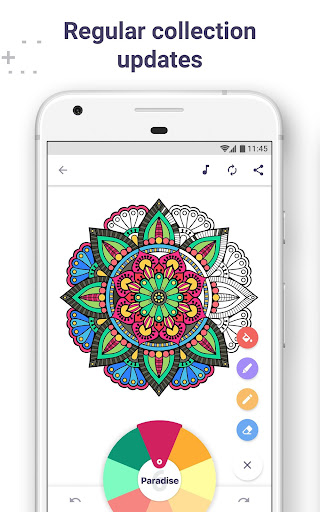 Coloring Book for Me & Mandala screenshot 2