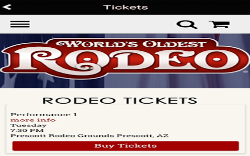 World's Oldest Rodeo-Prescott- screenshot thumbnail